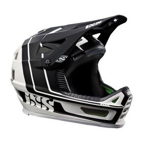 IXS Xult Kask rowerowy biały/czarny